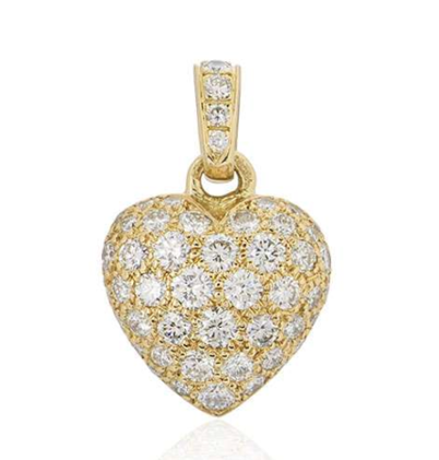 Cartier Diamond Heart Charm