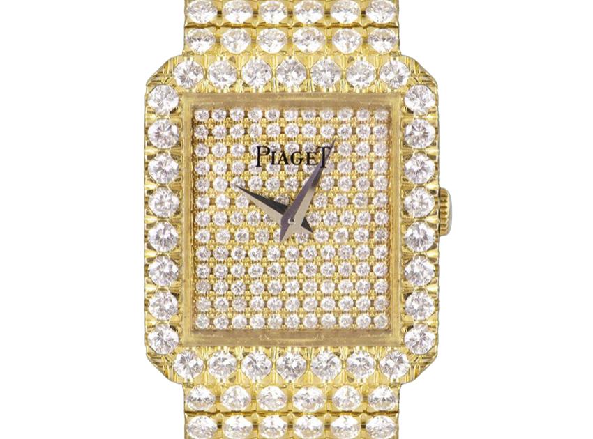 Piaget Diamond Set Dress Watch