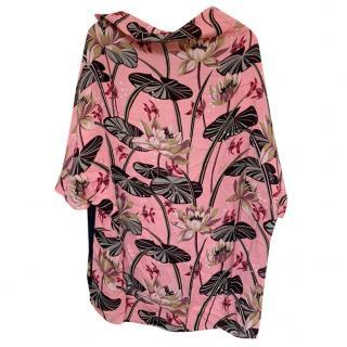 Loewe Paula's Ibiza Pink printed top