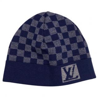 Louis Vuitton Damier Knit Wool Beanie