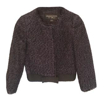 Giambatista Valli Tweed Short Jacket