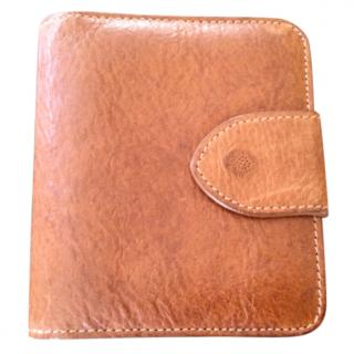 Mulberry Brown Leather Bi-Fold Wallet