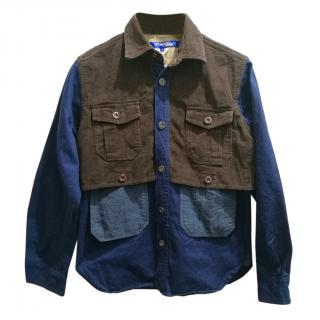 Junya Watanabe x Comme des Gar�ons patchwork men's shirt