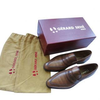 Gerard Sene Handmade Brown Loafers
