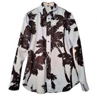 Moschino Cheap & Chic Palm Tree Print Shirt