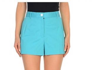 Dolce & Gabbana Azure Tailored Shorts