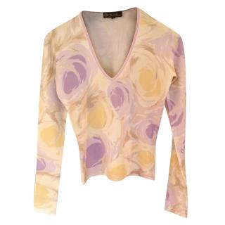 Loro Piana soft v neck cashmere jumper