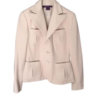 Ralph Lauren Collection Cream Tailored Jacket