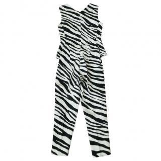 Dolce & Gabbana Zebra Print Top & Pants