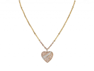 Boodles Pink/Yellow Gold Necklace