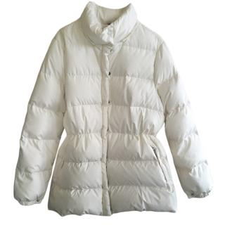 Moncler ivory down jacket