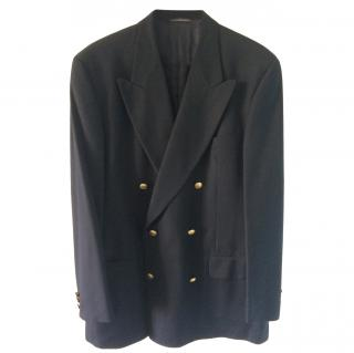 Gucci by Tom Ford double breasted black blazer