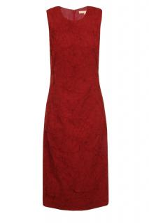 Michael Kors red fitted crepe dress - RRP �8500