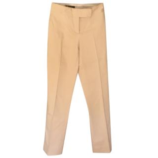 Loro Piana Khaki Straight Cut  Jeans