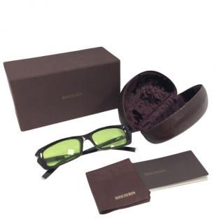 Boucheron Optyl Crystal Embellished Sunglasses