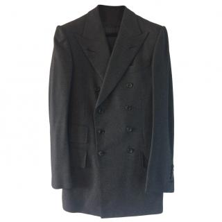 Tom Ford Charcoal Grey Three Piece Wool Suit