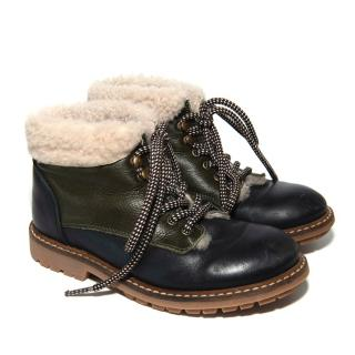 Bonpoint Shearling Lined Childrens boots