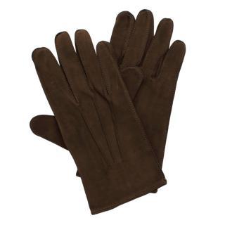 Luvaria Ulisses Olive Soft Suede Gloves