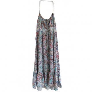 Zimmermann Paisley Print Halterneck Dress