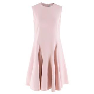 Christian Dior Pink Silk A-Line Dress
