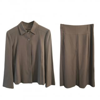 Jil Sander Light Brown Three-Piece Suit