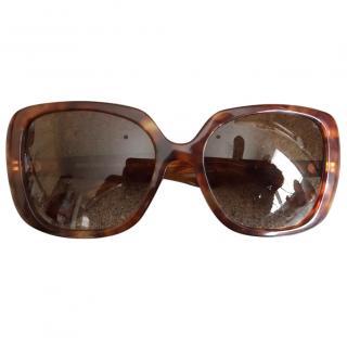 Miu Miu Tortoiseshell Butterfly Sunglasses