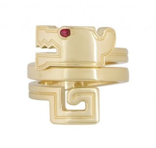 Cartier Baiser Du Dragon Ring