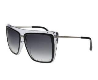 Balenciaga BA0104 05B Black Square Sunglasses