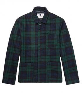 NNO7 Plaid Wool Jacket