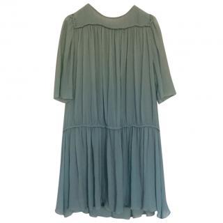 Chloe Silk Chiffon Dress