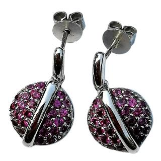 Fiorelli Rhodalite Garnet Earrings