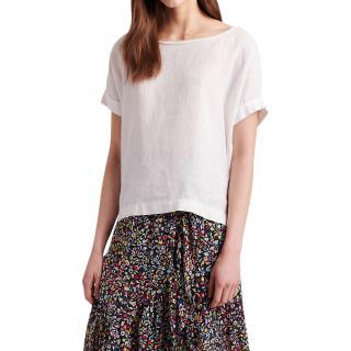 Gerard Darel Ramie Linen T-Shirt - Current Collection
