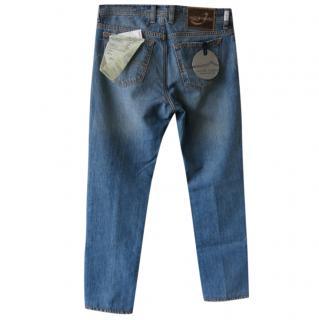 Jacob Cohen Hand Tailored Men's Jeans