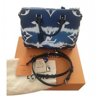 Louis Vuitton Blue Escale Speedy Bandouliere 30 bag