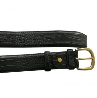 Artioli Crocodile Leather Belt
