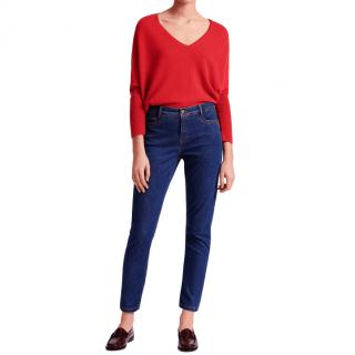 Gerard Darel Blue Straight Leg Jeans - New Season
