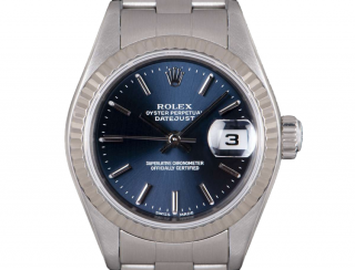 Rolex Datejust Stainless Steel Blue Dial