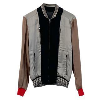 Lanvin Satin Bomber Jacket