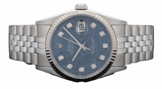 Rolex Datejust Gents Diamond Dial
