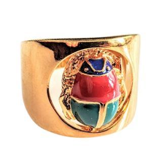 Maria Francesca Pepe Eternity Scarab Ring