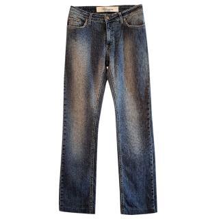 Blumarine Straight Leg Jeans
