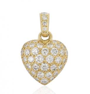 Cartier Diamond Heart Charm