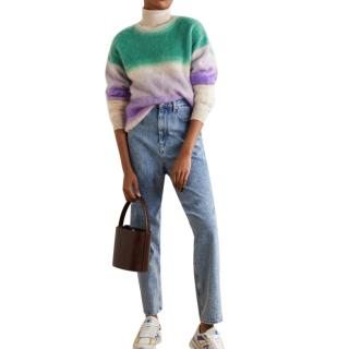 Isabel Marant Etoile Drussell striped mohair-blend sweater