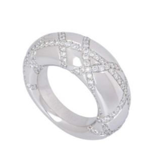 Chaumet Diamond White Gold Ring