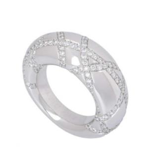 Chaumet Diamond White Gold Ring