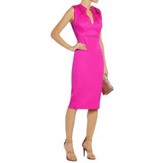 Antonio Berardi Pink Virgin Wool Dress