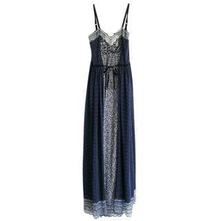 Chloe Pre-Fall Miulti-Print Maxi Dress