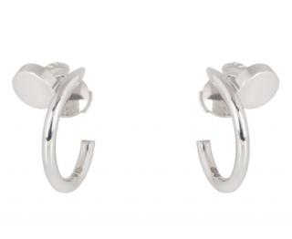 Cartier Pendant Half-Hoop Earrings