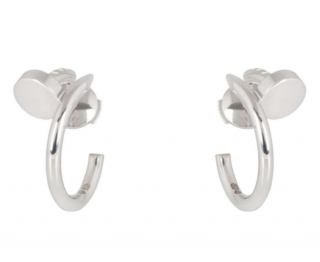 Cartier Pendant Half-Hoop Earrings
