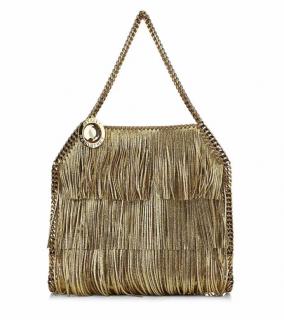 Stella McCartney Harrods Exclusive Fringed Falabella Shoulder Bag